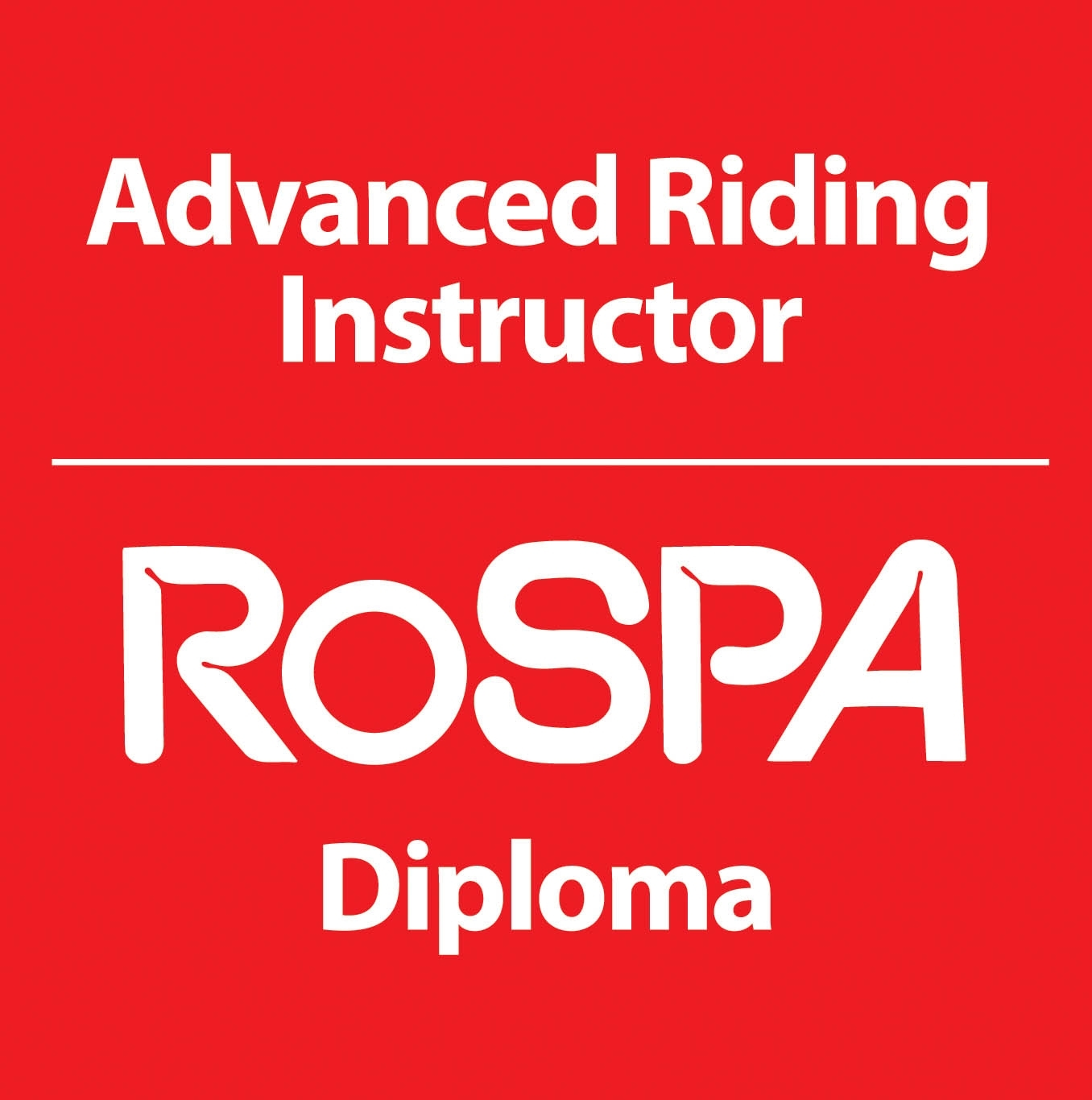 Rospa accredited Advanced Motorcycle Trainer